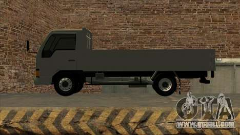Mitsubishi Fuso Canter 1989 Flat Body for GTA San Andreas right view