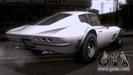 GTA 5 Invetero Coquette Classic HT SA Mobile for GTA San Andreas left view