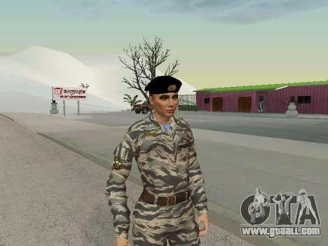 Kira Lebedev for GTA San Andreas second screenshot
