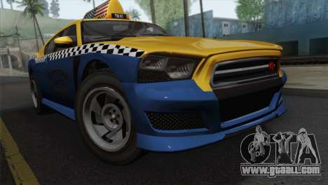 GTA 5 Bravado Buffalo S Downtown Cab Co. for GTA San Andreas