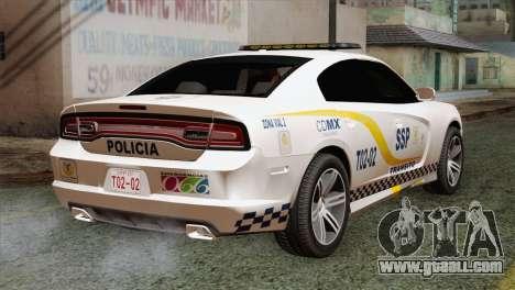 Dodge Charger SXT Premium 2014 for GTA San Andreas left view