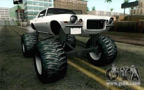 Chevrolet Camaro Z28 Monster Truck for GTA San Andreas