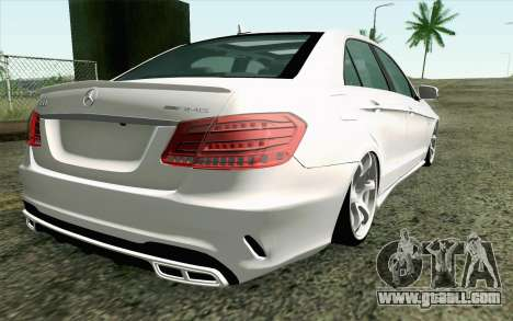 Mercedes-Benz E63 AMG for GTA San Andreas left view