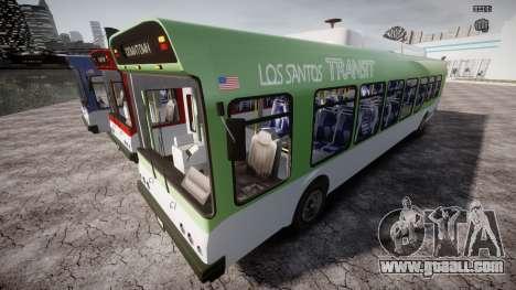 GTA 5 Bus v2 for GTA 4 wheels