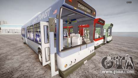 GTA 5 Bus v2 for GTA 4 inner view