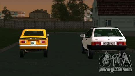 Mitsubishi Minica Skipper for GTA San Andreas left view