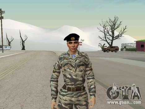Kira Lebedev for GTA San Andreas