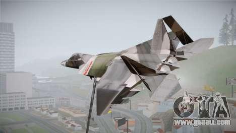 F-15 JASDF 50th Anniversary for GTA San Andreas left view