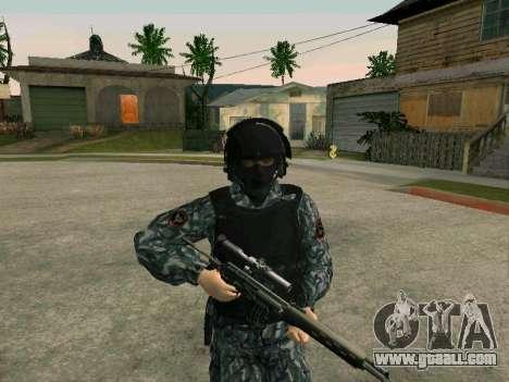 The policeman for GTA San Andreas second screenshot