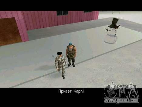 Kira Lebedev for GTA San Andreas sixth screenshot