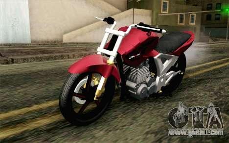 Honda Twister 250 v2 for GTA San Andreas