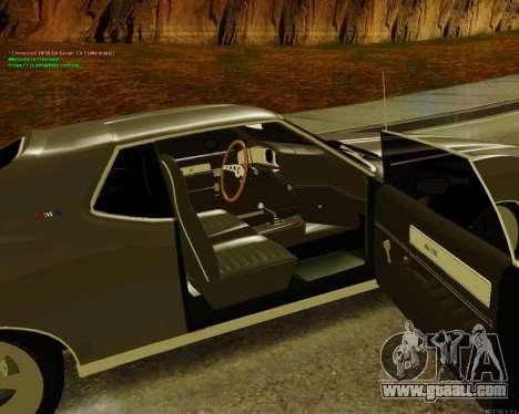 AMC AMX Brutol for GTA San Andreas back left view