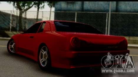 Elegy by Molniya for GTA San Andreas left view