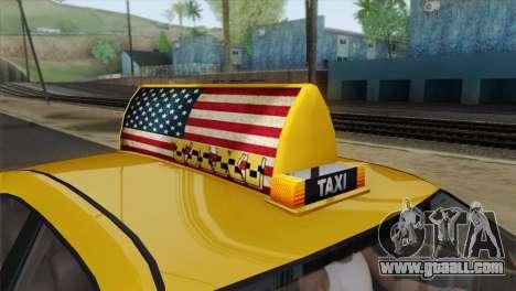 GTA 5 Bravado Buffalo S Downtown Cab Co. for GTA San Andreas right view