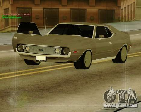 AMC AMX Brutol for GTA San Andreas right view