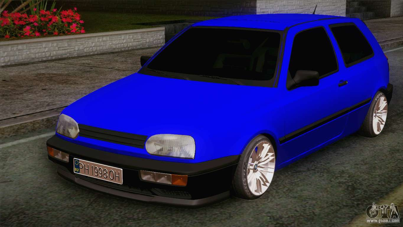 volkswagen golf 3 for gta san andreas. Black Bedroom Furniture Sets. Home Design Ideas