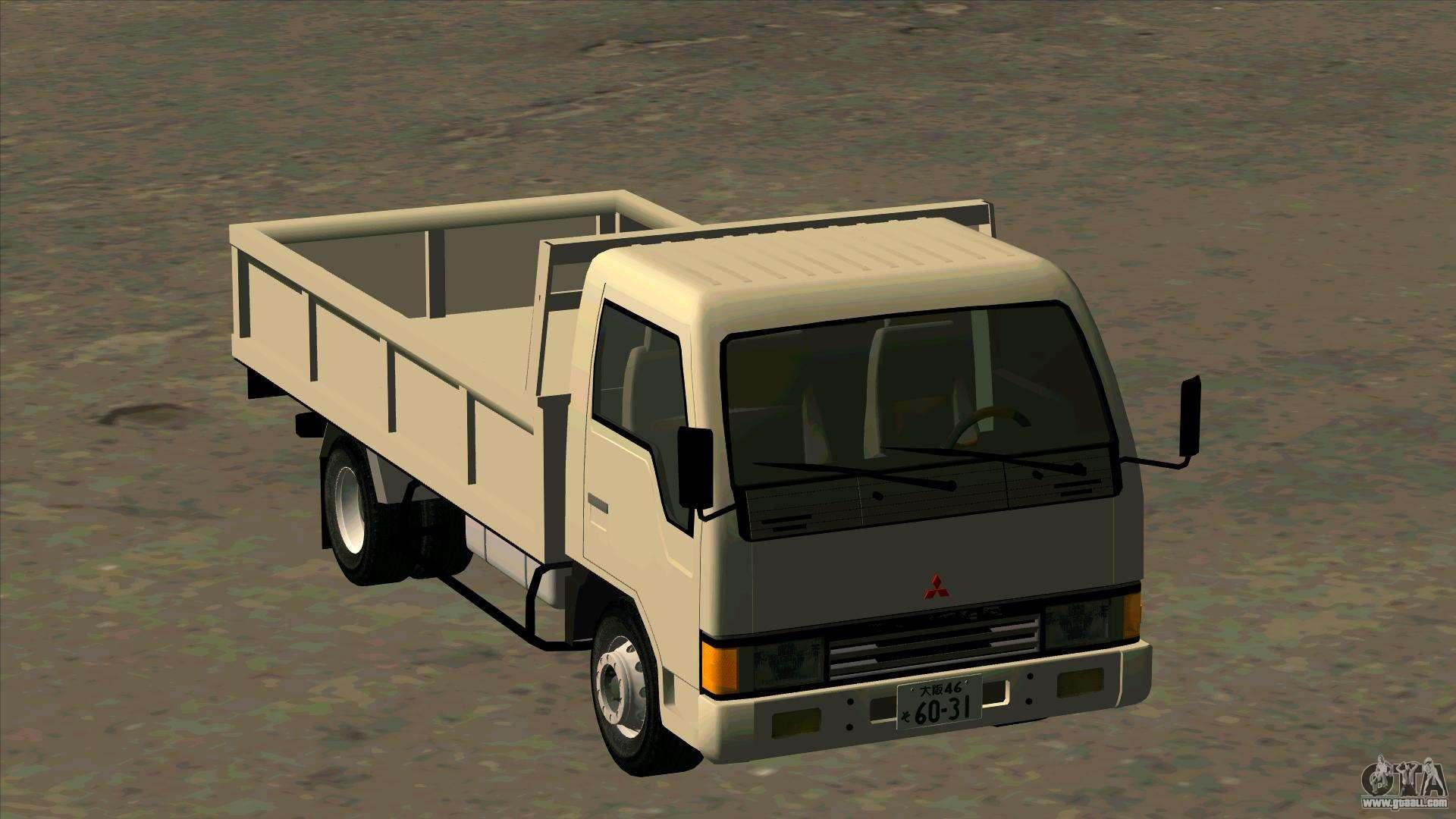 Mitsubishi Fuso Canter 1989 Flat Body For Gta San Andreas