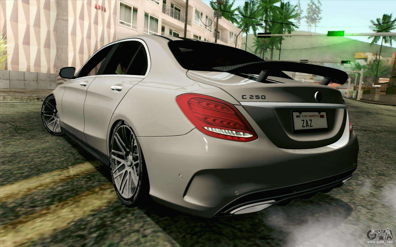 Mercedes benz c250 amg brabus biturbo edition for gta san for Mercedes benz gta