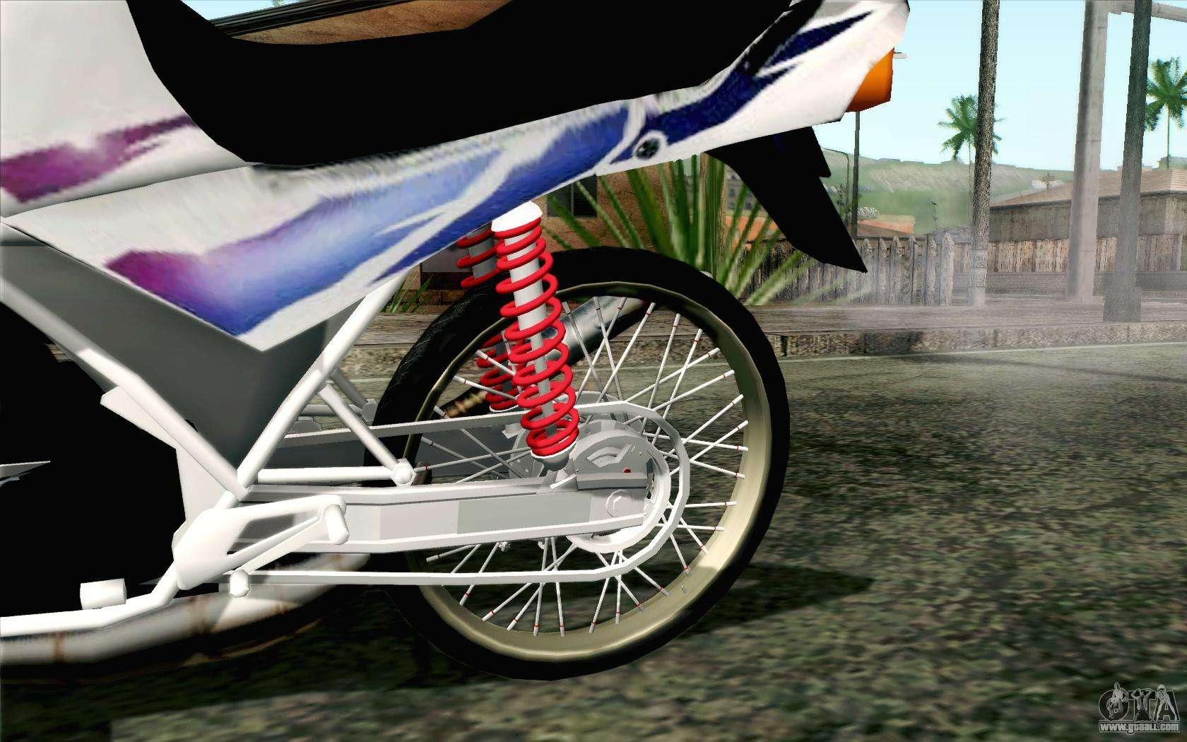 Yamaha rzr 135 drag for gta san andreas for Yamaha drag bike