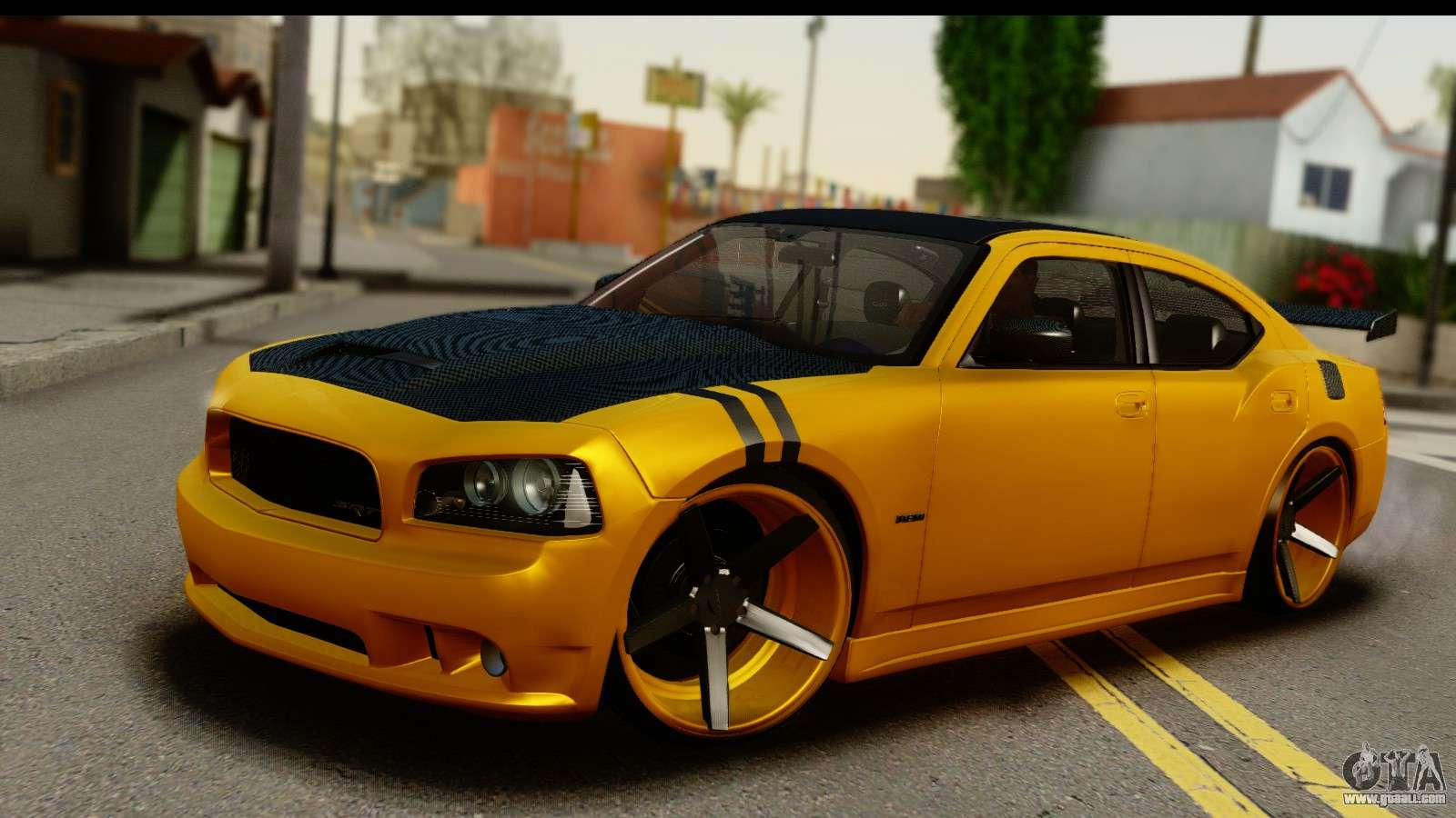 Dodge Charger Srt8 2006 Tuning For Gta San Andreas
