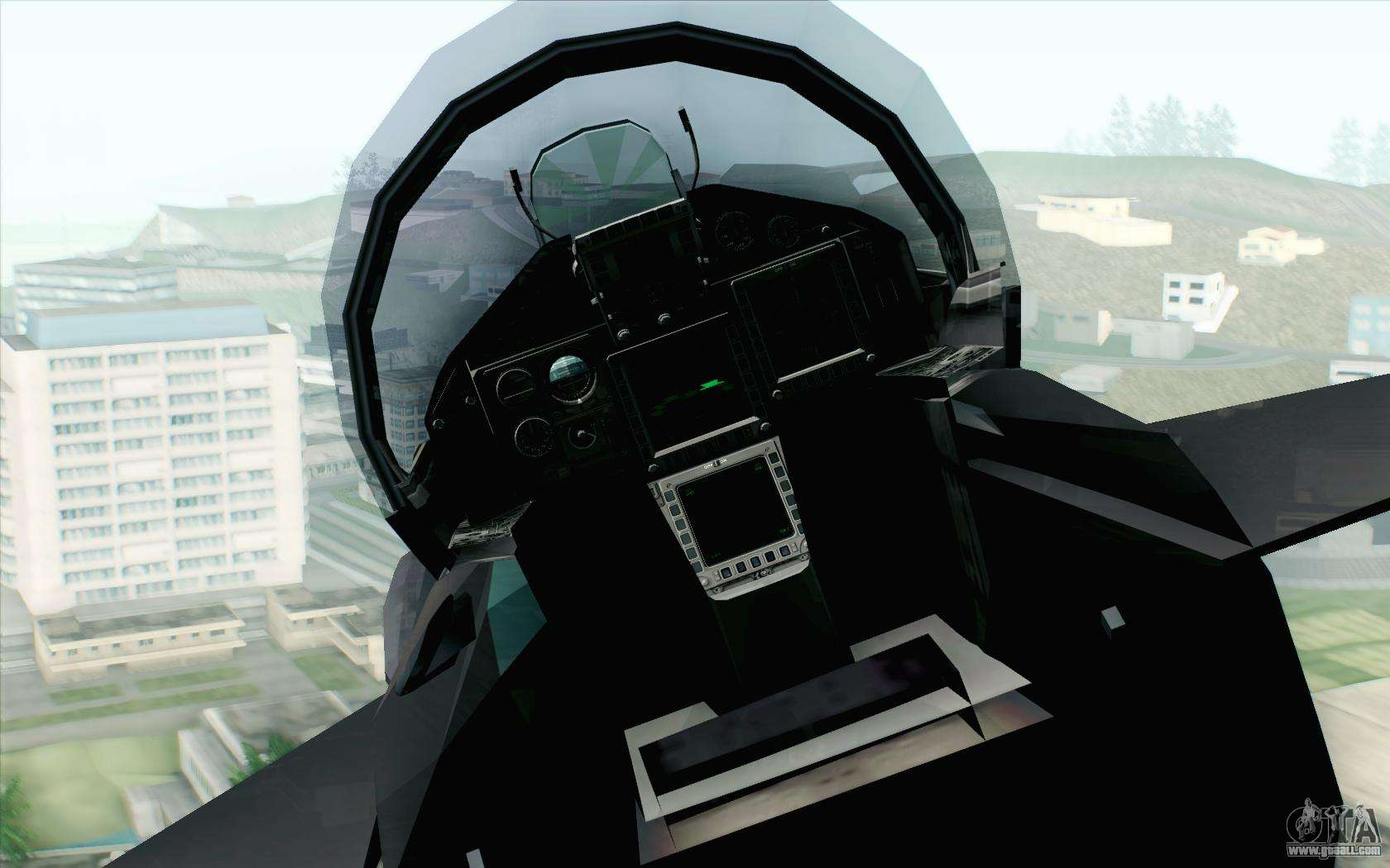 EuroFighter Typhoon 2000 Black Hawk for GTA San Andreas