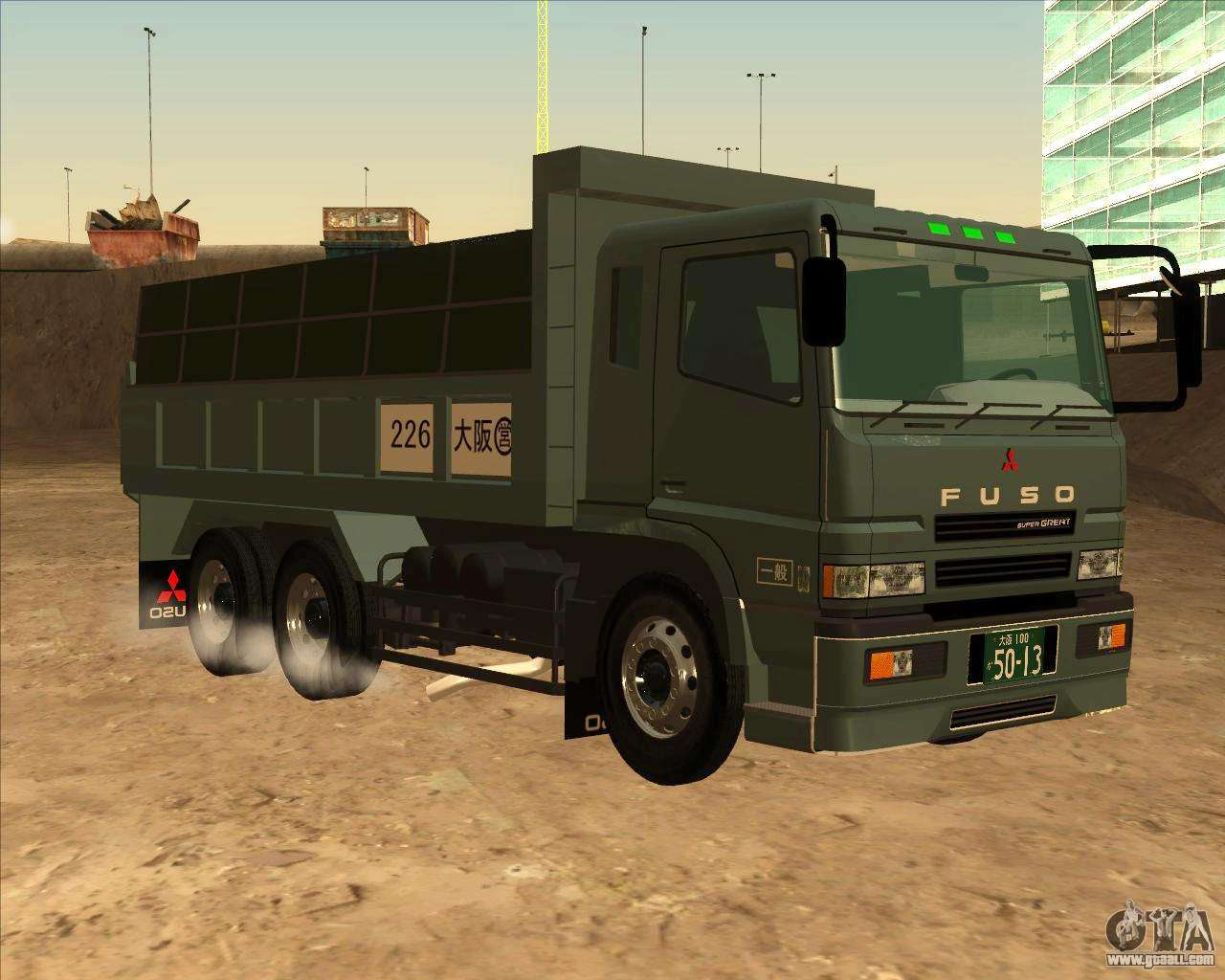 Pictures of Fuso Truck Super Great - #rock-cafe