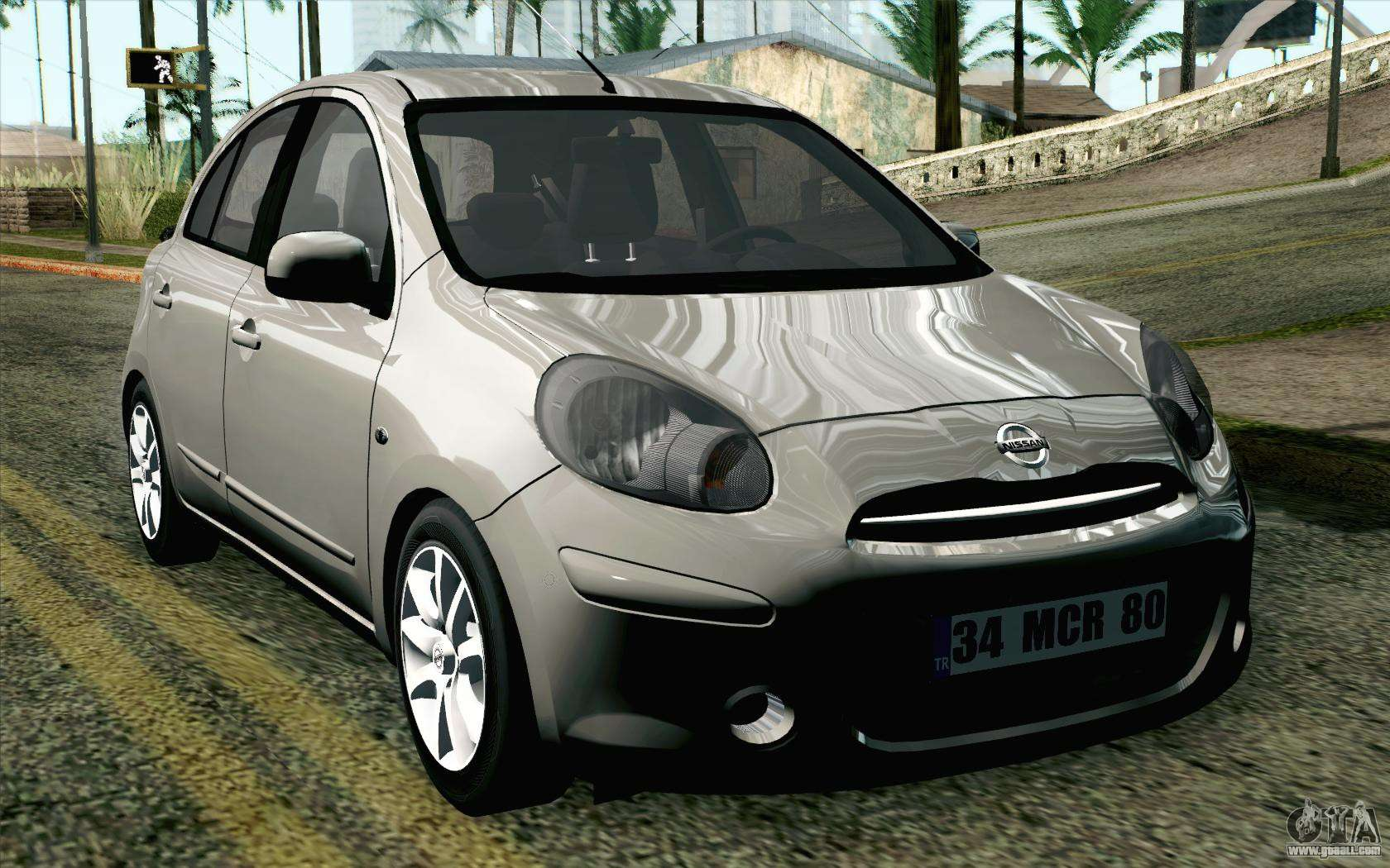 nissan micra for gta san andreas. Black Bedroom Furniture Sets. Home Design Ideas