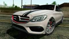 Mercedes-Benz C250 AMG Brabus Biturbo Edition for GTA San Andreas