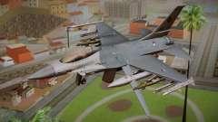 F-16 Fighting Falcon RNLAF Solo Display J-142