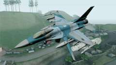 F-16C Fighting Falcon Aggressor BlueGrey for GTA San Andreas