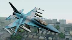 F-16C Fighting Falcon NSAWC Blue