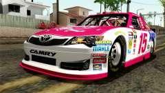 NASCAR Toyota Camry 2012 Plate Track