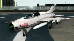 MIG-21UM Vietnam Air Force for GTA San Andreas