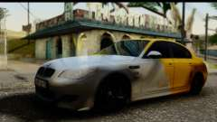 BMW M5 Gold for GTA San Andreas