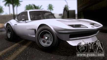 GTA 5 Invetero Coquette Classic HT SA Mobile for GTA San Andreas