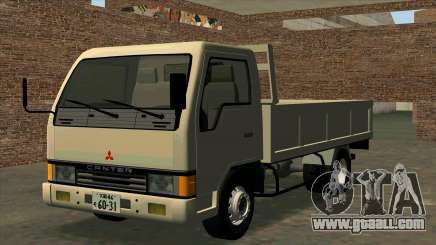 Mitsubishi Fuso Canter 1989 Flat Body for GTA San Andreas