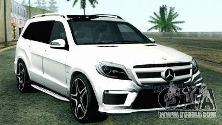 Mercedes-Benz GL63 AMG 2014 for GTA San Andreas