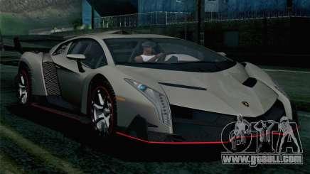 NFS Rivals Lamborghini Veneno for GTA San Andreas