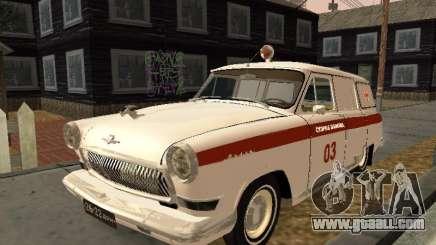 GAS 22 ambulance for GTA San Andreas