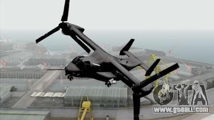 MV-22 Osprey USAF for GTA San Andreas