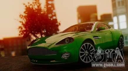 Aston Martin V12 Vanquish 2001 v1.01 for GTA San Andreas