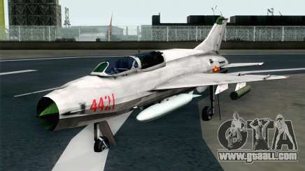 MIG-21UM Vietnam Air Force for GTA San Andreas