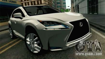Lexus NX 200T v2 for GTA San Andreas