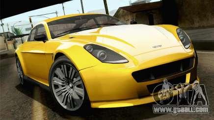 GTA 5 Dewbauchee Exemplar for GTA San Andreas