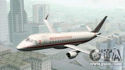 Embraer EMB-175 Republic Of Poland for GTA San Andreas