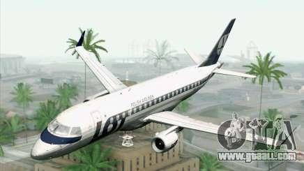 Embraer EMB-175 LOT Polish Airlines for GTA San Andreas
