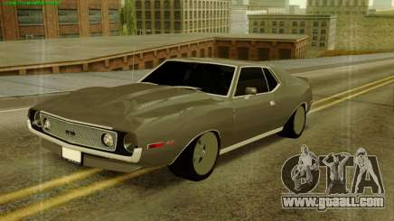 AMC AMX Brutol for GTA San Andreas