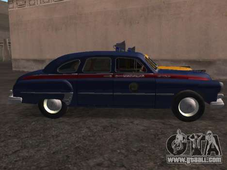 GAS -12 ZIM Soviet militia for GTA San Andreas