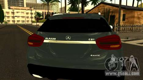 Mercedes-Benz GLA220 2014 for GTA San Andreas side view