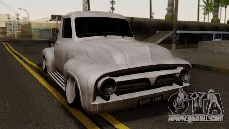 Ford F-100 1956 Stay Low for GTA San Andreas